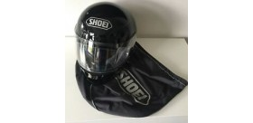 CASCO SHOEI RAID NERO LUCIDO